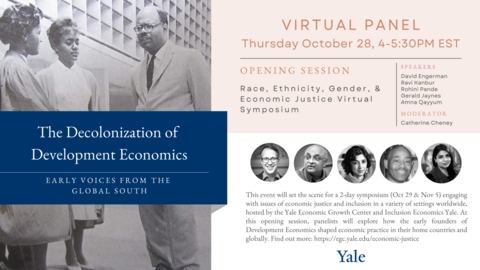 The Decolonization of Development Economics: Early Voices from the Global South