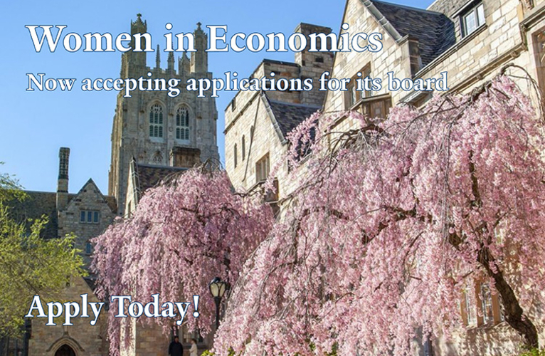 WiE Apply Now - picture of Yale courtyard with blossoming tree