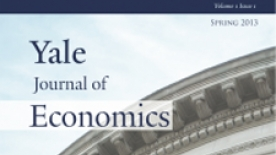 Yale Journal of Economics cover