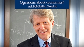Robert J. Shiller - Questions about economics header
