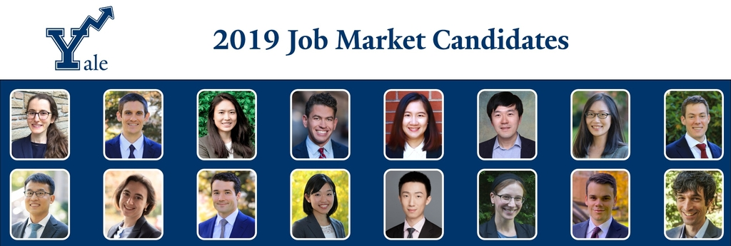 collage of 2019 Job Market Candidates