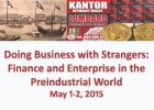 Doing Business with Strangers: Finance and Enterprise in the Preindustrial World conference poster