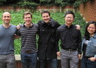 Arvid Anderson Prize Fellows, Oren Sarig, Ian Ball, Conor Walsh, Wayne Gao, and Ling Zhong
