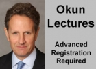 Timothy Geithner - Okun Lectures poster