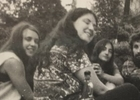 Marianne Hill and Laurie Nisonoff  picnicking with other Yale economics Ph.D. students
