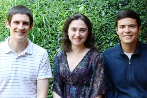 Brian Greaney, Katherine Wagner, and  Luis Fabiano Carvalho Monteiro